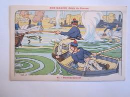 Illustrateur Illustrateurs Nos Marins Série De Guerre Bombardement Gervese H - Gervese, H.