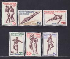 SENEGAL N°  217 à 222 ** MNH Neufs Sans Charnière, TB (D8644) Jeux Sportifs De L'amitié à Dakar - 1963 - Senegal (1960-...)
