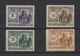 SALVADOR. YT  N° 469/472  Neuf *  1930 - Salvador