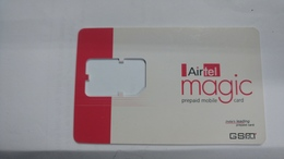 India-air Tel G.s.m Card-(51c)-()-(new Delhi)-()-(look Out Side)-used Card+1 Card Prepiad Free - India
