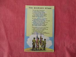 The Marines Hymn      Ref 3169 - Militaria