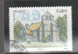 FRANCE 2015 EGLISE SAINT MARTIAL DE LESTARDS OBLITERE YT 4967 - - France