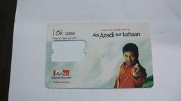 India-air Tel G.s.m Card-(51d)-()-(new Delhi)-()-(look Out Side)-used Card+1 Card Prepiad Free - India