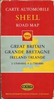 GRANDE BRETAGNE Et IRLANDE - CARTE AUTOMOBILE SHELL (MAIR) Et ¨PLAN DE LONDRES (750.000ème Et 1.500.000ème) - Cartes Routières