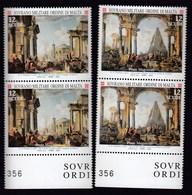 SMOM, Sovrano Militare Ordine Di Malta 2004 / Masters Of Painting, Giovanni Paolo Pannini - Malte (Ordre De)