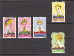 Etiopia Nº 421 Al 425 - Etiopía