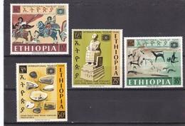 Etiopia Nº 493 Al 496 - Etiopía