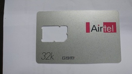 India-air Tel G.s.m Card-(51e)-()-(new Delhi)-()-(look Out Side)-used Card+1 Card Prepiad Free - India