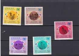 Etiopia Nº 609 Al 613 - Etiopía