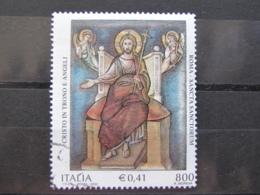 *ITALIA* USATI 2001 - SANCTA SANCTORUM - SASSONE 2575 - LUSSO/FIOR DI STAMPA - 6. 1946-.. Repubblica