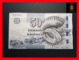FOROYAR FAROE ISLAND 50 Kronur  2011  P. 29  UNC - Färöer Inseln