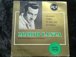 Mario Lanza: Granada-Lolita-O Sole Mio-La Danza/ 45t RCA 85 235 - Vinyl Records