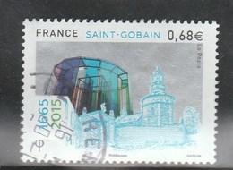 FRANCE 2015 SAINT GOBAIN OBLITERE A DATE YT 4984 - - France