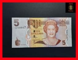 FIJI 5 Dollars 2011  P. 110 B   UNC - Fidji