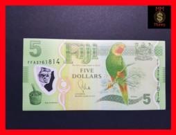 FIJI 5 Dollars 2012  P. 115  POLYMER  UNC - Fiji