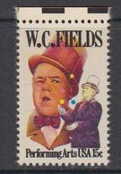 USA 1980 W.C. Fields 1v (+margin) ** Mnh (41864) - Verenigde Staten