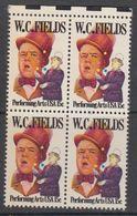USA 1980 W.C. Fields 1v Bl Of 4 (+margin) ** Mnh (41864A) - Verenigde Staten