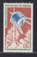 SENEGAL AERIENS N°   45 ** MNH Neuf Sans Charnière, TB (D8647) Cosmos, Télécommunications Spatiales - 1964 - Senegal (1960-...)