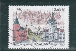 FRANCE 2015 FONDATION DE HAGUENAU OBLITERE YT 4969 - - France