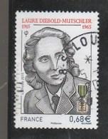 FRANCE 2015 LAURE DIEBOLD YT 4985 OBLITERE - - France