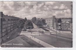 Amsterdam-Z. Rooseveltlaan Oude Auto's Tram # 1956   1829 - Amsterdam