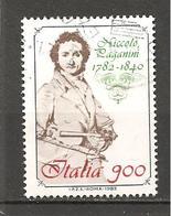 ITALIA - 1982 NICCOLO' PAGANINI  Violinista E Compositore  2° Cent. Nascita Usato - Celebrità
