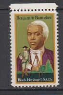 USA 1980 Black Heritage / Benjamin Banneker 1v (+margin) ** Mnh (41864C) - Verenigde Staten