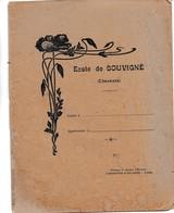 Cahier D'ecolier Ecole De Souvigné Charente 16 Lombarteix Et Balmisse Ussel - Buvards, Protège-cahiers Illustrés