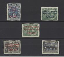 GUATEMALA. YT  PA N° 19/22  Neuf **  1932 - Guatemala