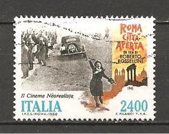 ITALIA - 1988 ROMA CITTA' APERTA Film Di ROBERTO ROSSELLINI , Anna Magnani Usato - Cinema