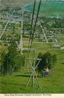 CPSM Snow King Mountain Chairlift And Jackson                          L2780 - Etats-Unis