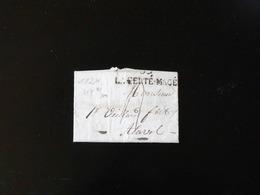 LETTRE DE LA FERTE MACE POUR LAVAL   -  1824  - - 1801-1848: Precursori XIX