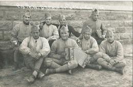 CPA Photo Groupe De Militaire Les Privés D'Amour à La Chambre 22 - Guerre 1914-18