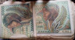 Billet De Banque De  10000FCFA - Cameroun