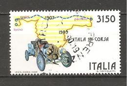 ITALIA - 1989 Raid Parigi-Pechino (auto Itala) Usato - Geografia