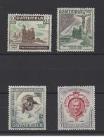 GUATEMALA. YT  PA N° 226/229  Neuf **  1957 - Guatemala