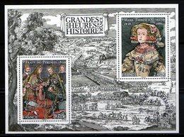 France 2018.Bloc Les Grandes Heures De L'histoire De France.Cachet Rond Gomme D'origine. - Souvenir Blocks & Sheetlets
