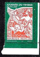 """FRANCE 3135a**  3f00 + 0f60 Orange Sur Vert Journée Du Timbre 1998 """" Blanc 1900"""" Issu De Carnet - France"""
