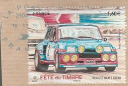 FRANCE 2018  RENAULT MAXI 5 TURBO - F 5205 OBLITERE A DATE SUR FRAGMENT - France