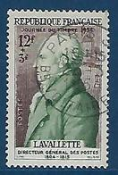 """FR YT 969 """" Comte De Lavalette """" 1954 Oblitéré - France"""