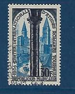 """FR YT 986 """" Eglise Saint-Philibert """" 1954 Oblitéré - France"""