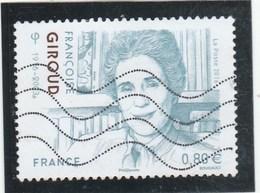 FRANCE 2016 FRANCOISE GIROUD OBLITERE YT 5079 - France