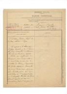 1900 SAIGON Succession D'un Lieutenant De Vaisseau Marine Nationale TB - France