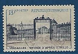 """FR YT 988 """" Grille D'entrée De Versailles """" 1954 Oblitéré - France"""