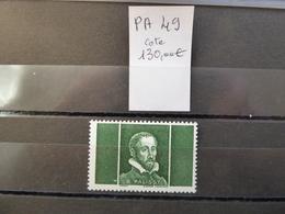 FRANCE Cotées Sur Yvert, Palissy  PA 49  Cote 130 €  Nfs Sans Charn..MNH - Other