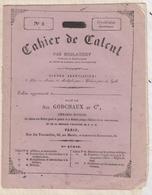 81058 CAHIER DE CACUL N°5 SYSTEME METRIQUE DUBLANCHY GODCHAUX - Old Paper