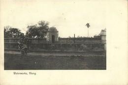 Malay Malaysia, SELANGOR KLANG, Waterworks (1908) Postcard - Malaysia
