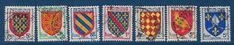 """FR YT 999 à 1005 """" Armoiries De Province """" 1954 Oblitéré - France"""
