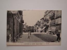 70 Luxeuil Les Bains.rue Du Chène.bon état.vieux Camion Roues à Bandages - Luxeuil Les Bains
