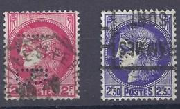 No . 373.375A  0b Perforé - France